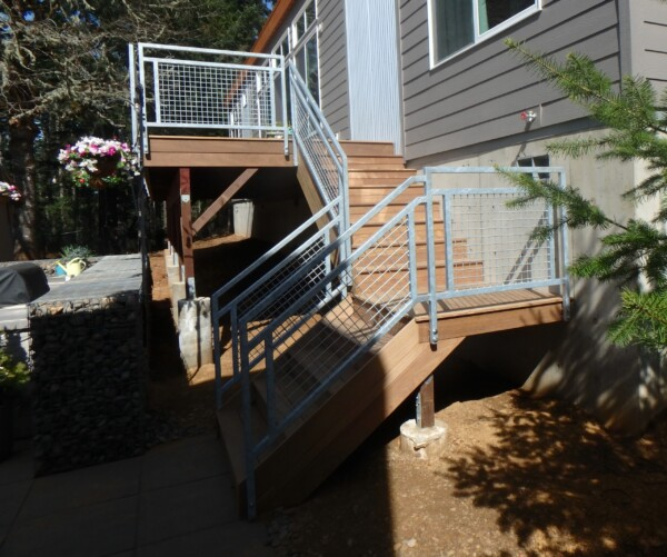 Patio Deck Rail
