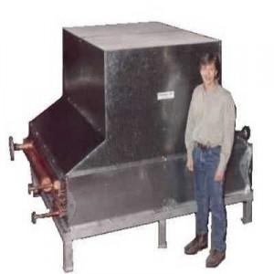 Custom three fluid air cooler