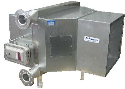 Air Cooler with Motorized Inlet & Gravity Outlet Dampers