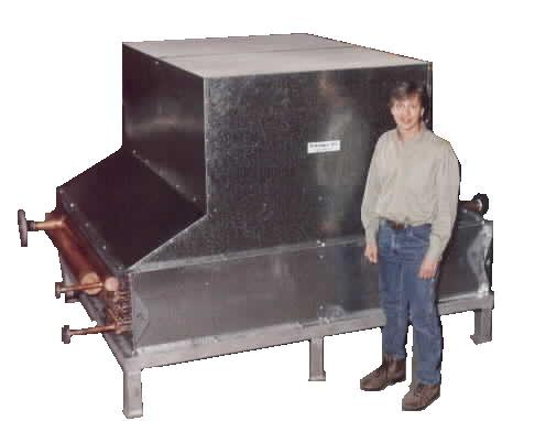Air cooled liquid cooler