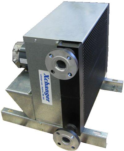 Air cooled lube oil cooler
