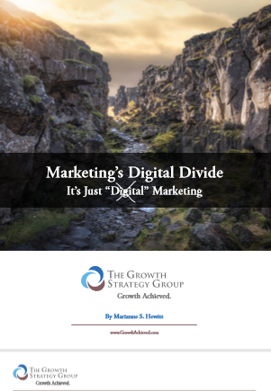 The Growth Strategy Group Marketing's Digital Divide
