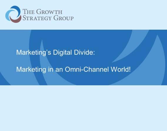 Marketing In An Omni Channel World