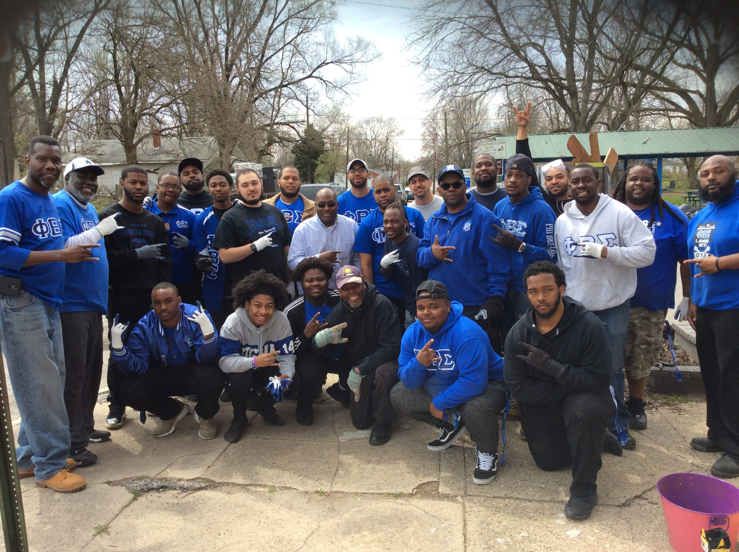 2g.(Ready to Work) Great Lakes Region Phi Beta Sigma Day of Service 4-22-2018
