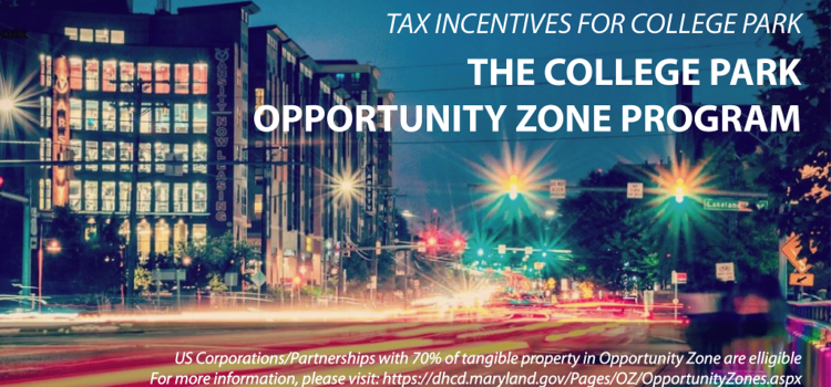 College Park's designated Opportunity Zone