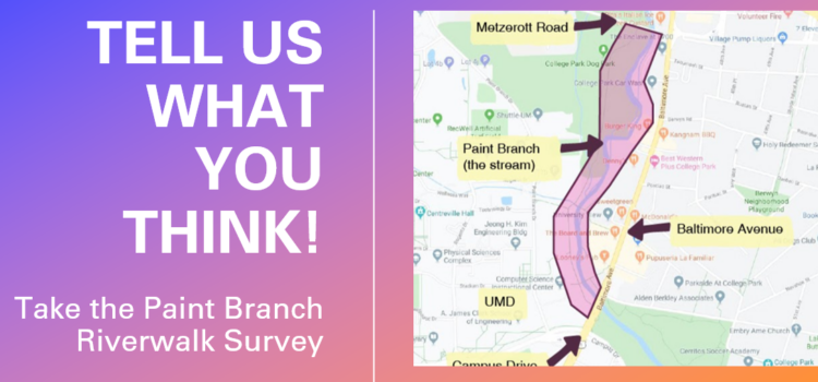 Paint Branch Riverwalk Survey