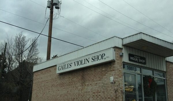 Gailes' Violin Shop