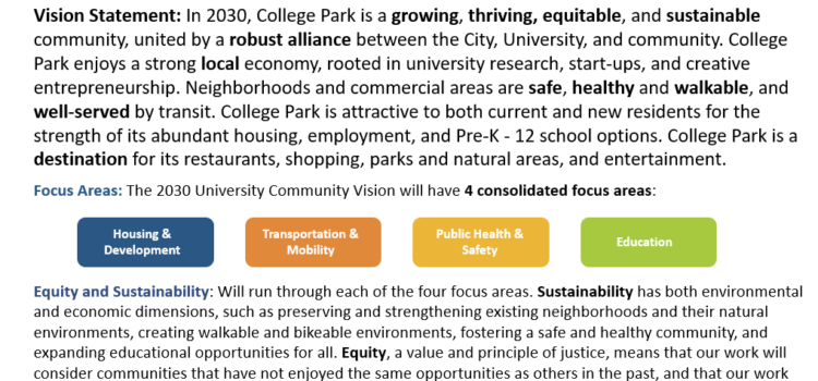 Media Advisory – Endorsement of the University Community Vision 2030