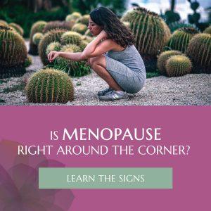 Menopause Infographic