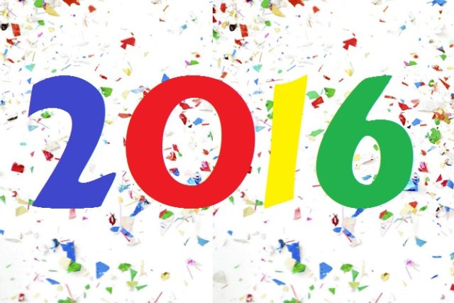 2016 Is Upon Us!