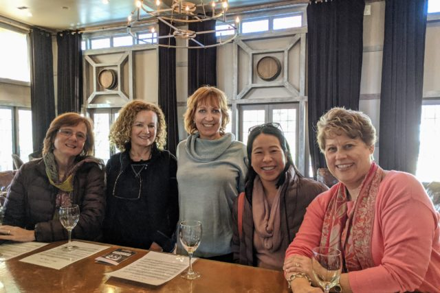 New Friends, Two Wineries, Great Day