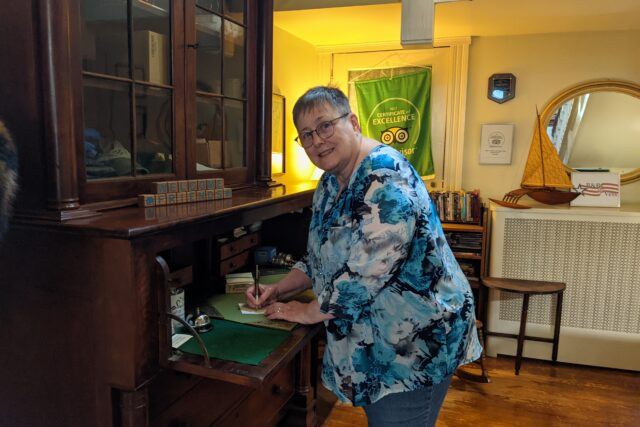 Second Acts Cool People: Meet Christine, Owner, The Grey Swan Inn