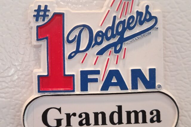My Mom's Gone, and the Dodgers Won the Pennant
