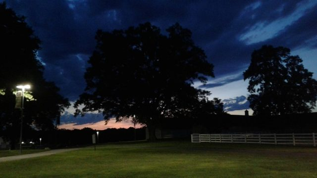 Sunset at Meadow Farm, Birthplace of Secretariat