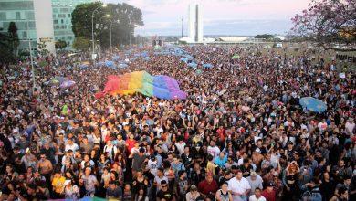 21ª Parada do Orgulho LGBTS de Brasília acontecerá no próximo domingo, dia 01 de julho às 14h00 em frente ao Congresso Nacional. (foto: Ernane Queiroz/Arquivo/Gay1)
