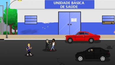 Na animação, Jair Bolsonaro ganha pontos ao matar negros, mulheres e pessoas LGBT. (Foto: Reprodução/Steam)
