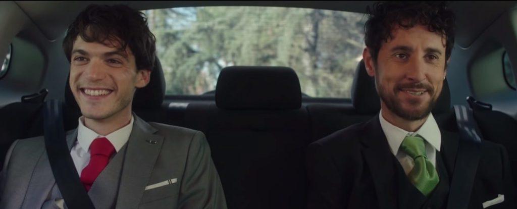 Cena do comercial Romeu y Julio protagonizado por um casal gay. (Foto: Reprodução)