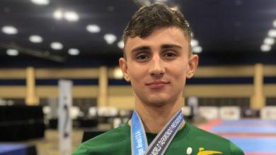 Jack Woolley segunda medalha de ouro. (Foto: Reprodução/Twitter)