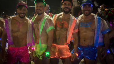 Bloco Minha Luz É de Led transforma o centro do Rio de Janeiro em festa da diversidade. (Foto: Arquivo/Luciola Villela)