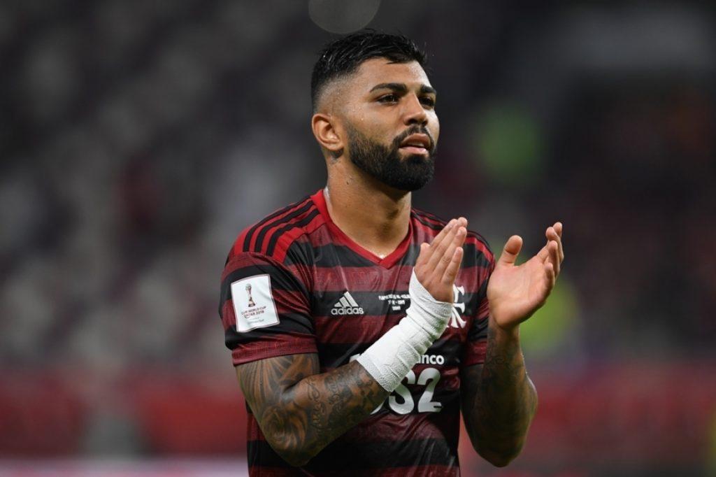 Gabigol, atacante do Flamengo. (Foto: Etsuo Hara/Getty Images)