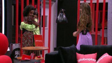 BBB 20: Thelma escolhe Gabi, Manu e Rafa para o cinema do líder. (Foto: Reprodução/Globoplay)