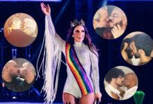 Ivete Sangalo lança clipe Localizei com beijos entre pessoas do mesmo sexo. (Foto: Arte/Gay1)