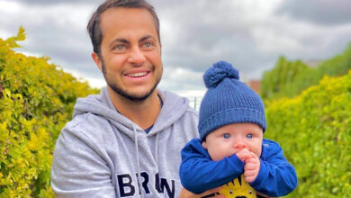 Thammy Miranda com o filho, Bento. (Foto: Reprodução/Instagram)
