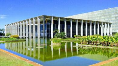 Palácio do Itamaraty, em Brasília. (Foto: Reprodução/© Olhares.com)