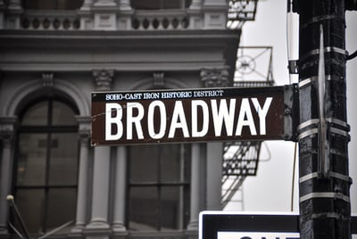 Race on Broadway: What Crosses the Line?