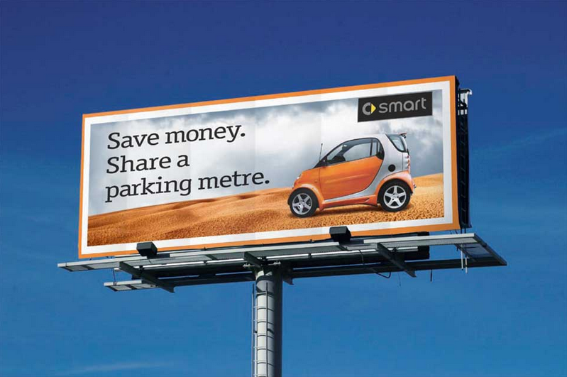Smart Car Billboard