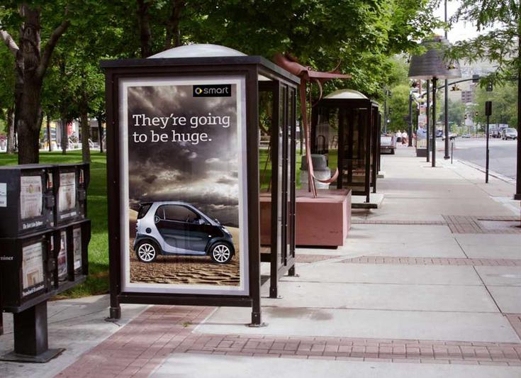 Smart Car Bus Stop