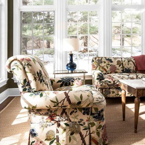 living room interior design Ridgefield, Connecticut