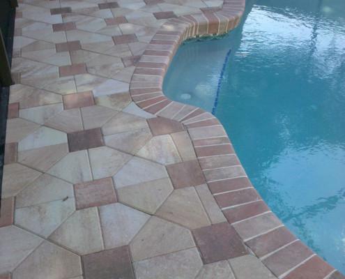 brick paver pool patio 14