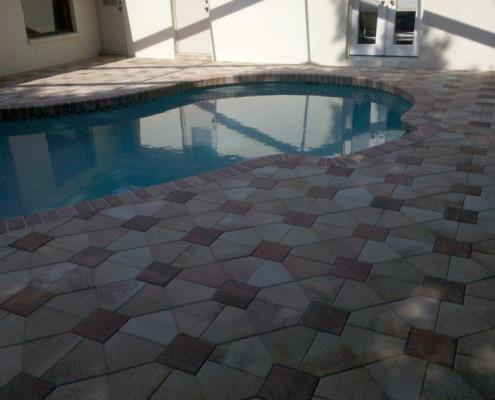 brick paver pool patio 13