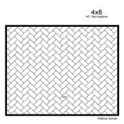 4X8-45-HERRINGBONE