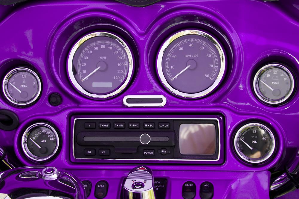 Utah motorcycle stereo installation