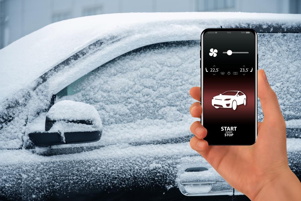 remote start temperature security