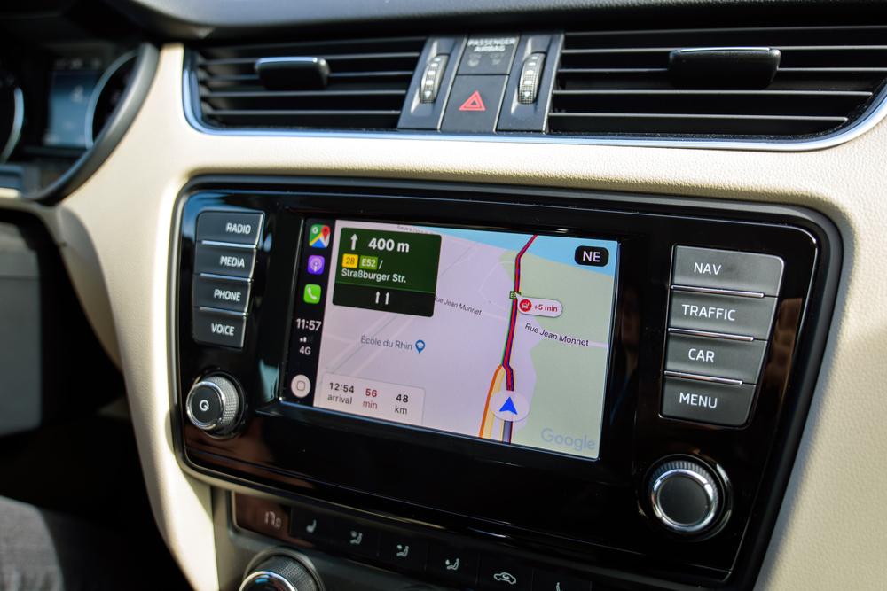 rideshare vehicle audio GPS