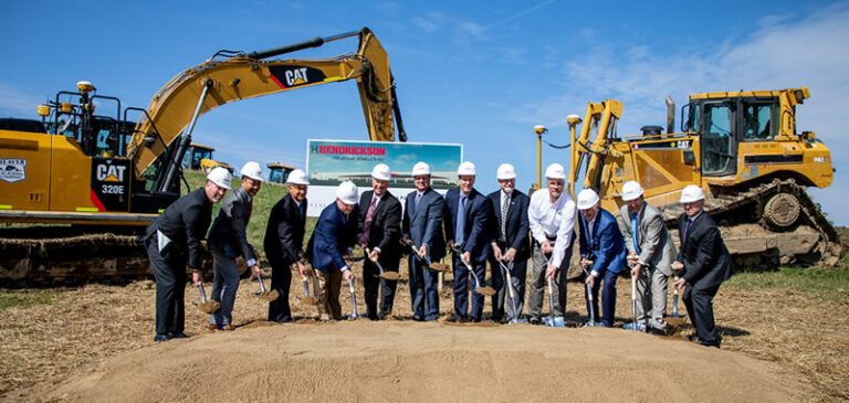 Hendrickson Trailer Suspension Plant - Ohio Groundbreaking