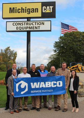 WABCO and Michigan CAT Celebrate Launch of Service Partner Program