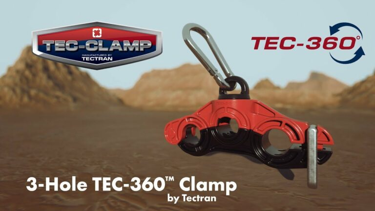 Tectran 3-Hole TEC-360 Clamp