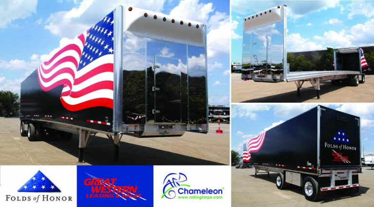 2020 Fontaine Revolution Flatbed Trailer with Chameleon Rolling Tarp System