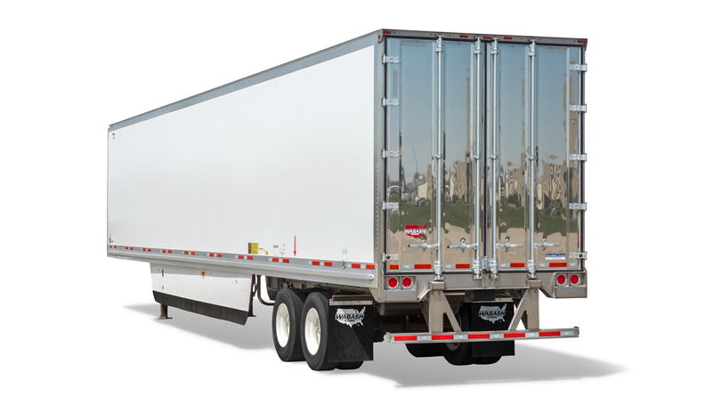 Wabash MSC Reefer - Zero-Emissions Composite Refrigerated Trailer