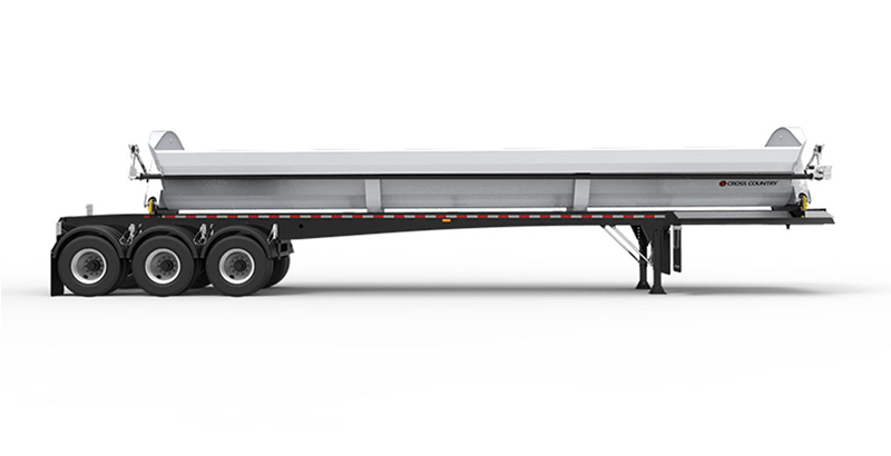 Cross Country Trailers 443SDX Tridem Side Dump
