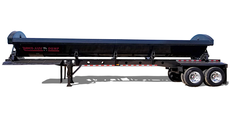 Ranco SD22-42-2 2-Axle Side Dump Trailer