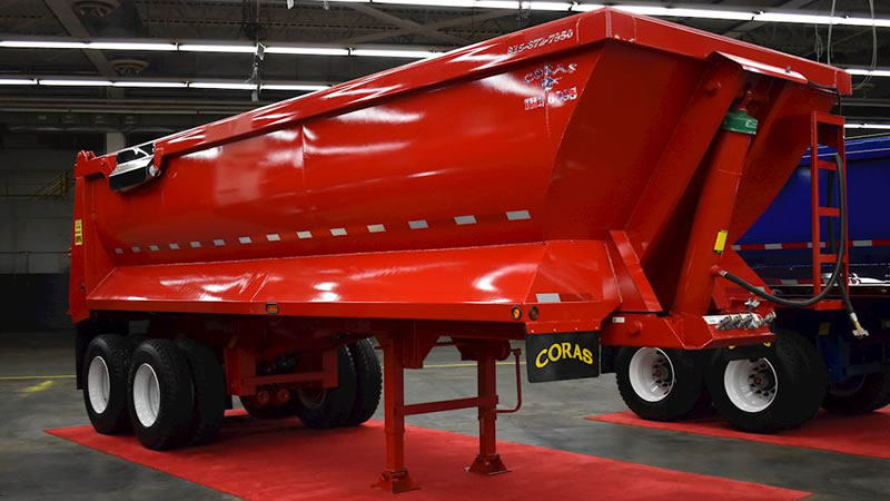 Coras Boss 26 Foot Dump Trailer