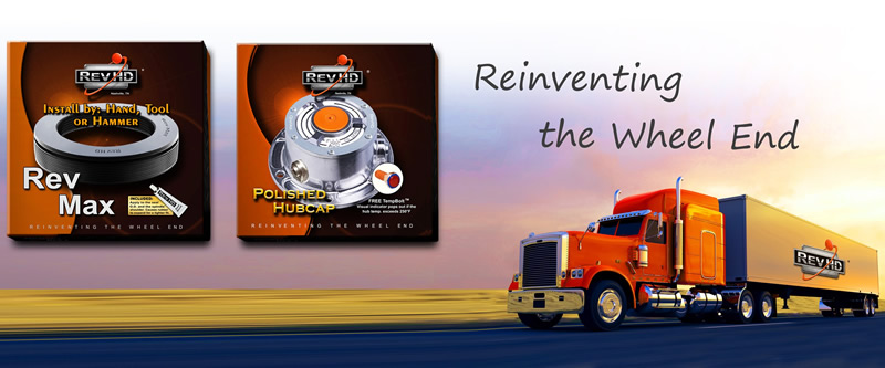 RevHD Wheel End Components - Seal and Hubcap