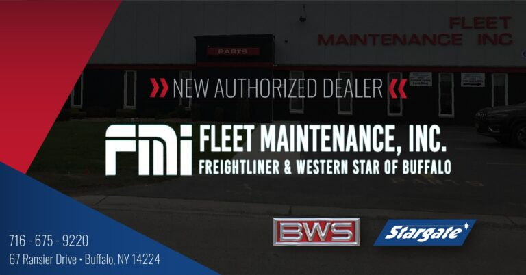 Fleet Maintenance Inc - BWS & Stargate Dealer