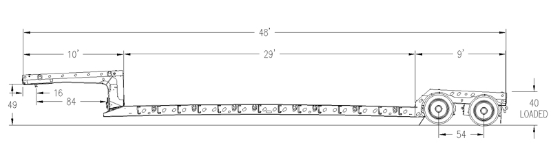 XL 80-MFG Mechanical Full-width Gooseneck