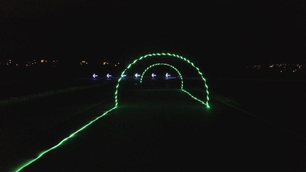 Pista da corrida virtual Night Nation